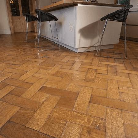 basket weave flooring