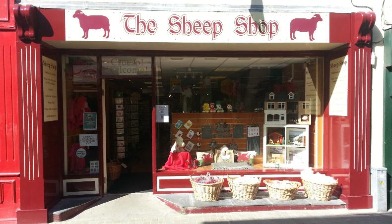 Sheep Shop, gifts, open