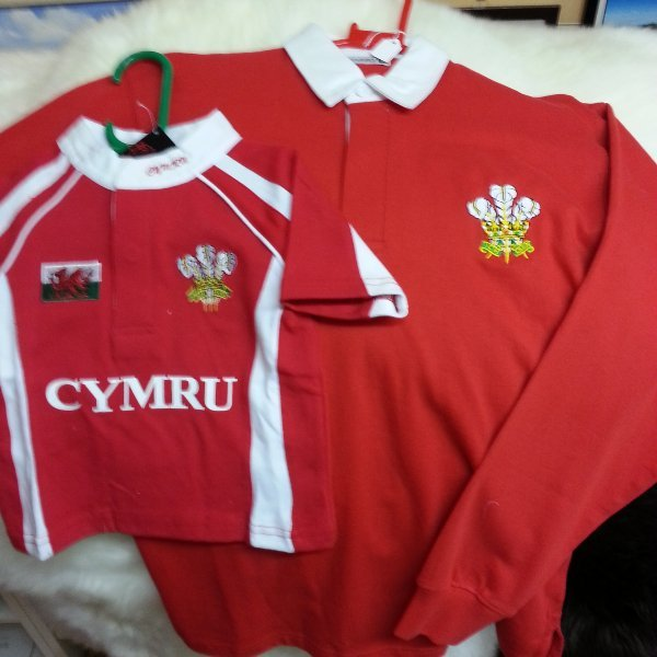 Welsh Rugby Tops, Welsh Costimes, Support Rugby, Haverfordwest, Wales