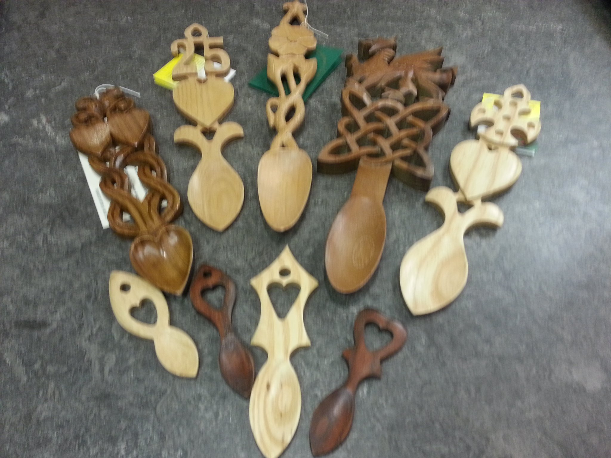 Lovespoons, Welsh Lovespoons, Handcarved Lovespoons