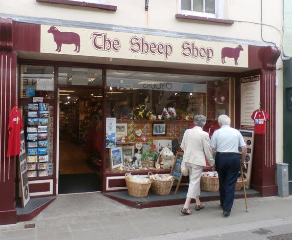 Sheep Shop, Haverfordwest, gifts, open