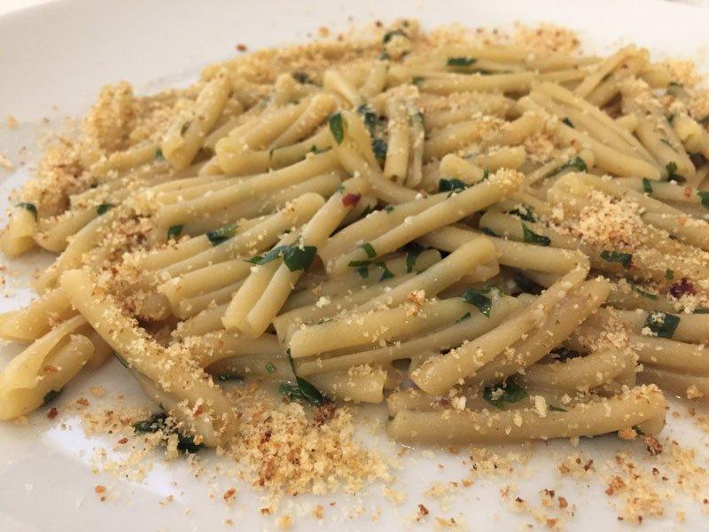 Piatto di pasta Enna