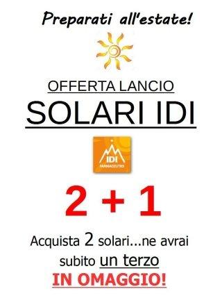 Promozione solari IDI 2+1