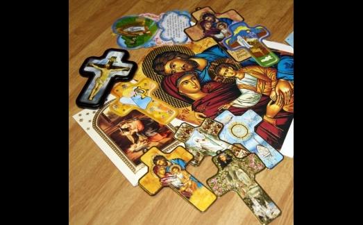 stampa in rilievo per biglietti religiosi