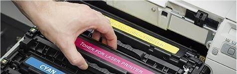 Vendita materiali di consumo per stampanti