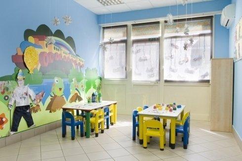 aula per i più piccoli