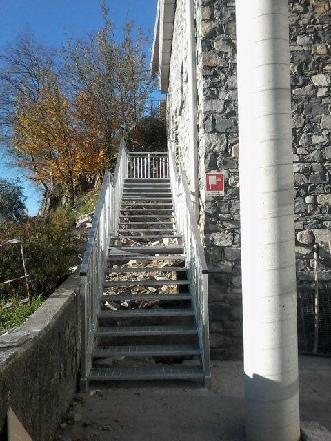 realizzazione scale a Abbadia Lariana