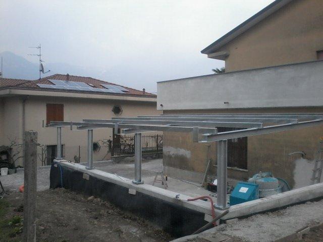 realizzazione tettoie a Abbadia Lariana