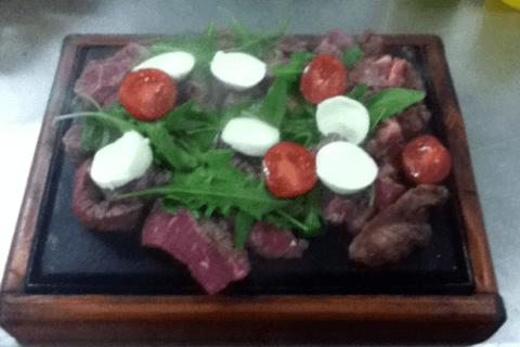tagliata di carne, filetto di manzo, tagliata di cavallo