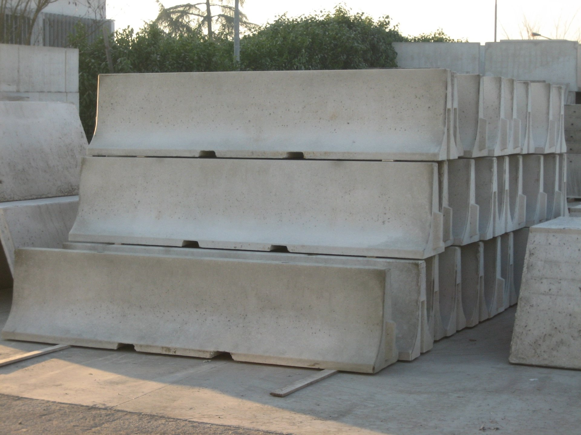 barriere stradali prefabbricate