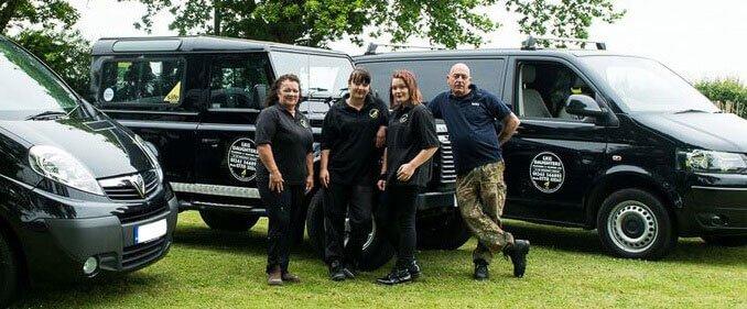 The LKG Daughters team of expert plumbers.