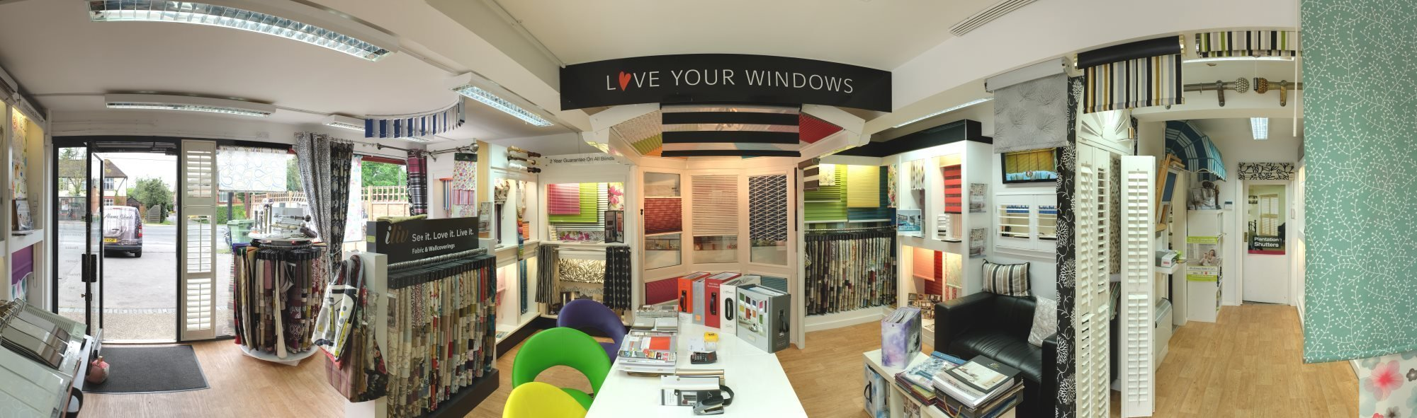 Visit the Largest Blinds Showroom in the Area