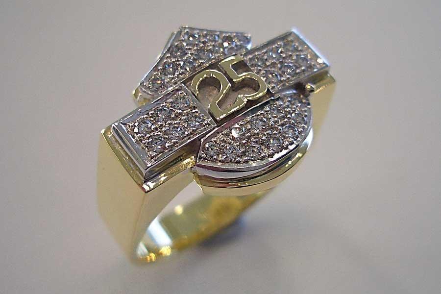 25 years ring