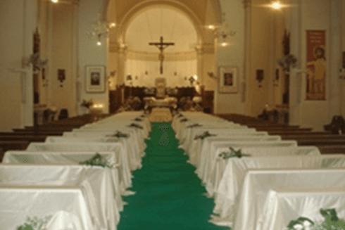 fiori per nozze in chiesa