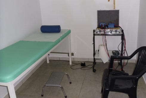 ambulatorio per trattamenti di elettrofisioterapia