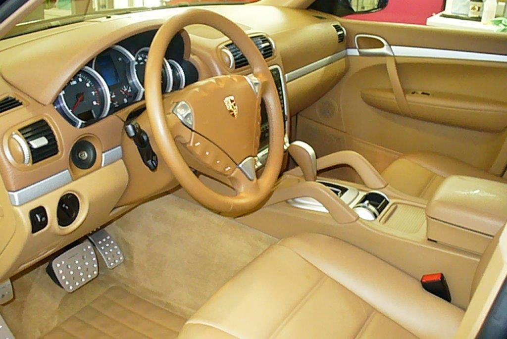 Interior auto detail