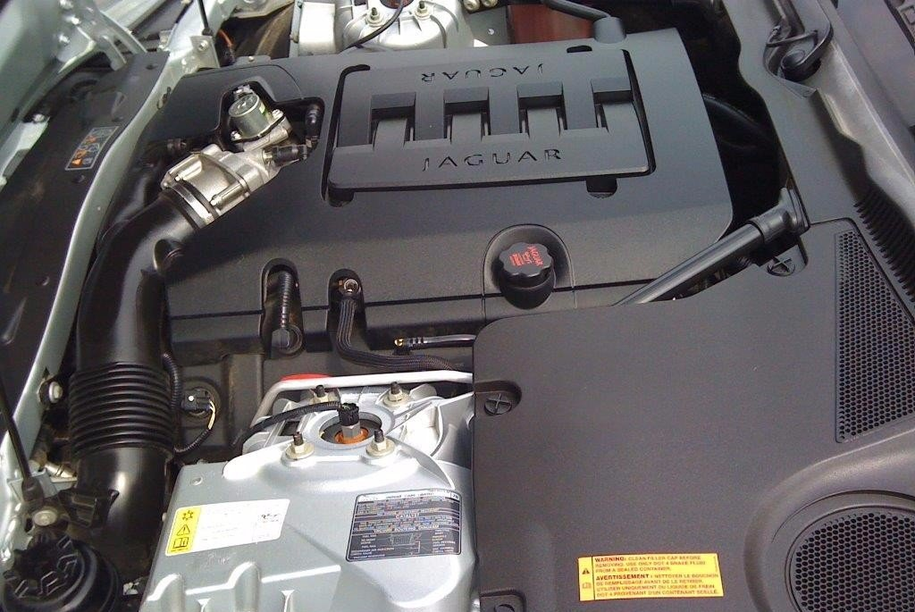 Engine steam clean