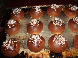 dolci con praline di zucchero