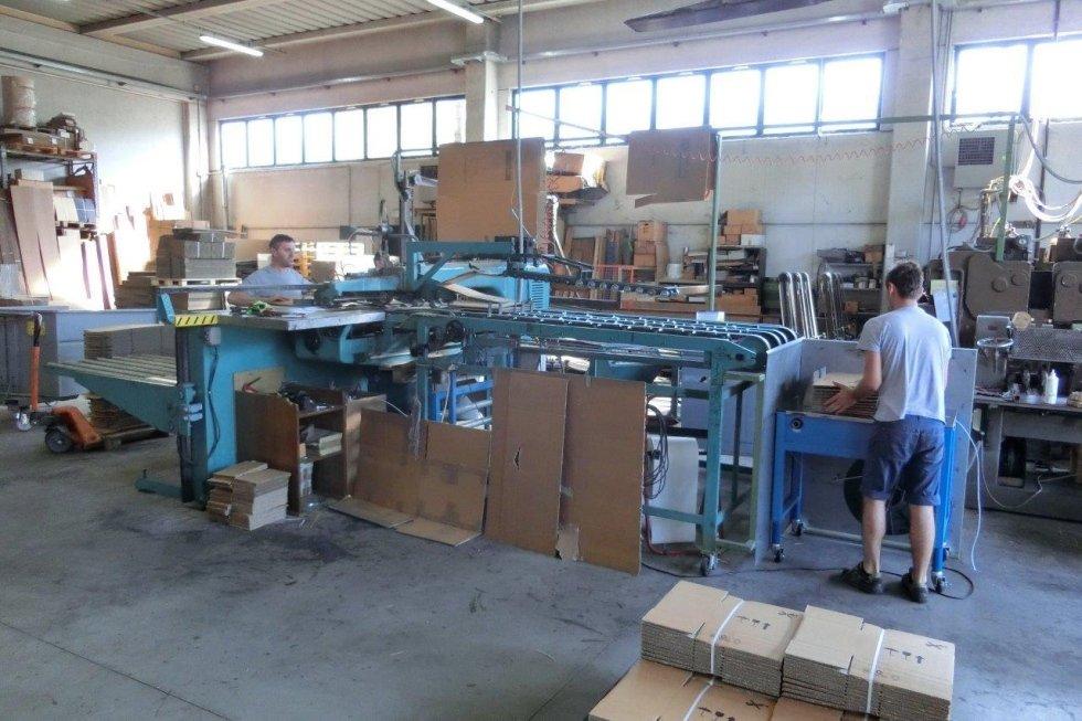 produzione scatole cartone ondulato