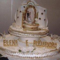 Torta per il matrimonio di Elena e Alessandro