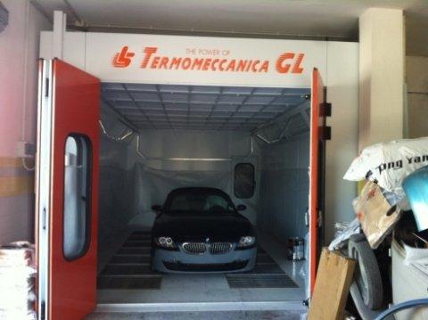 verniciatura auto forno