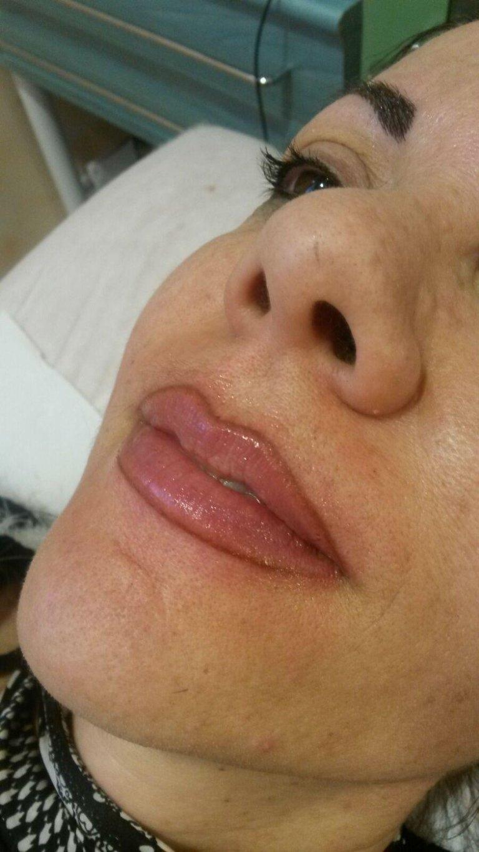 trucco semipermanente bocca