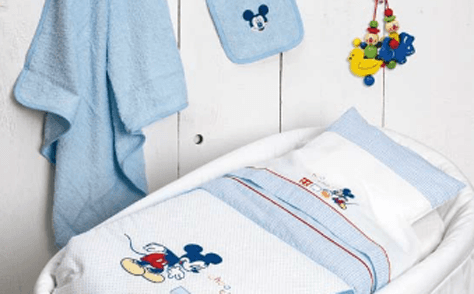 corredo neonato disney