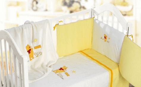 lenzuola giallo winnie pooh