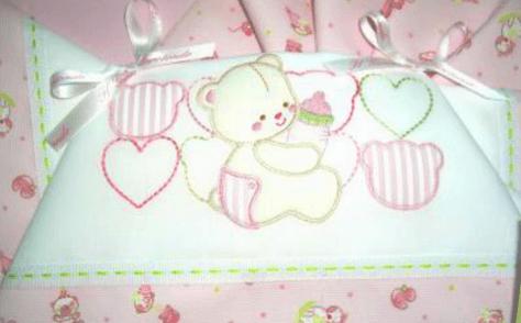 lenzuola orso bambina