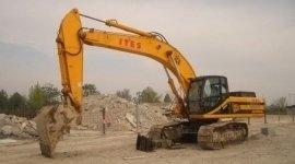 scavi cantieri edili, escavatoristi, scavatrice