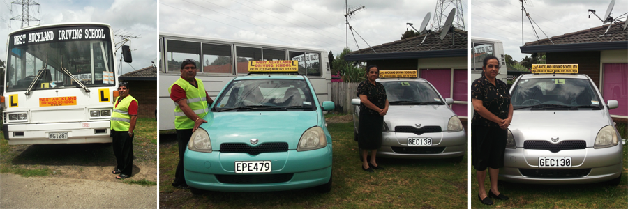 Owners of a driving school in Auckland
