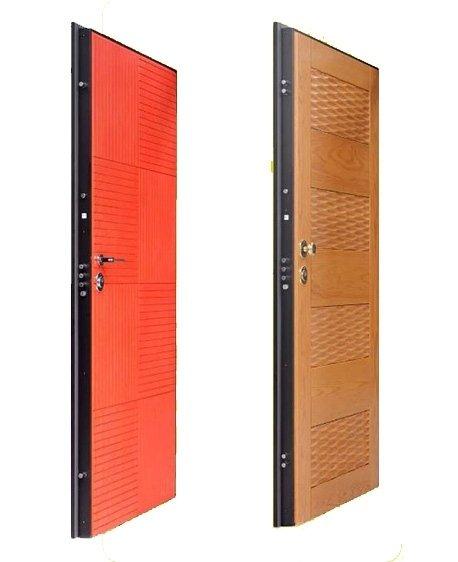 porte blindate colorate