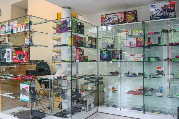 vetrine espositive prodotti in vendita