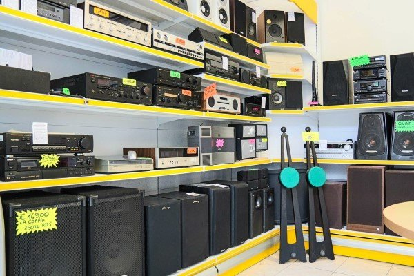 impianti stereo usati in esposizione