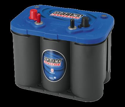 Power Crank Batteries Optima Blue 34m