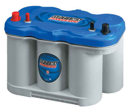 Power Crank Batteries Optima Blue d27m