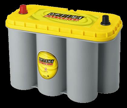 Power Crank Batteries Optima Yellow D31A