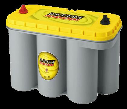 Power Crank Batteries Optima Yellow D31T