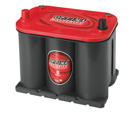 Power Crank Batteries Optima  Red 25