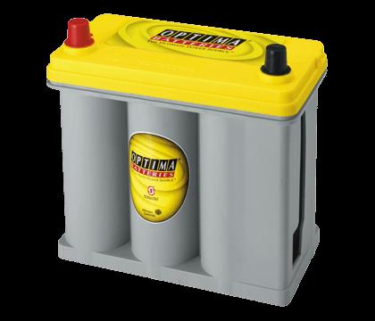 Power Crank Batteries Optima Yellow D51
