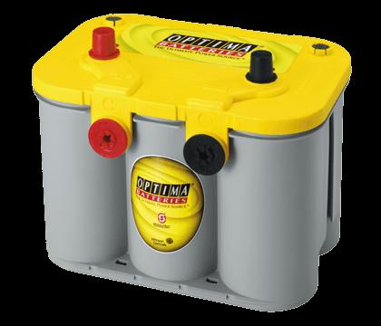 Power Crank Batteries Optima Yellow D34 78