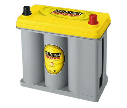 Power Crank Batteries Optima Yellow D51R
