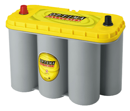 Power Crank Batteries Optima Yellow D31A
