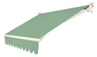 disegno di tenda verde