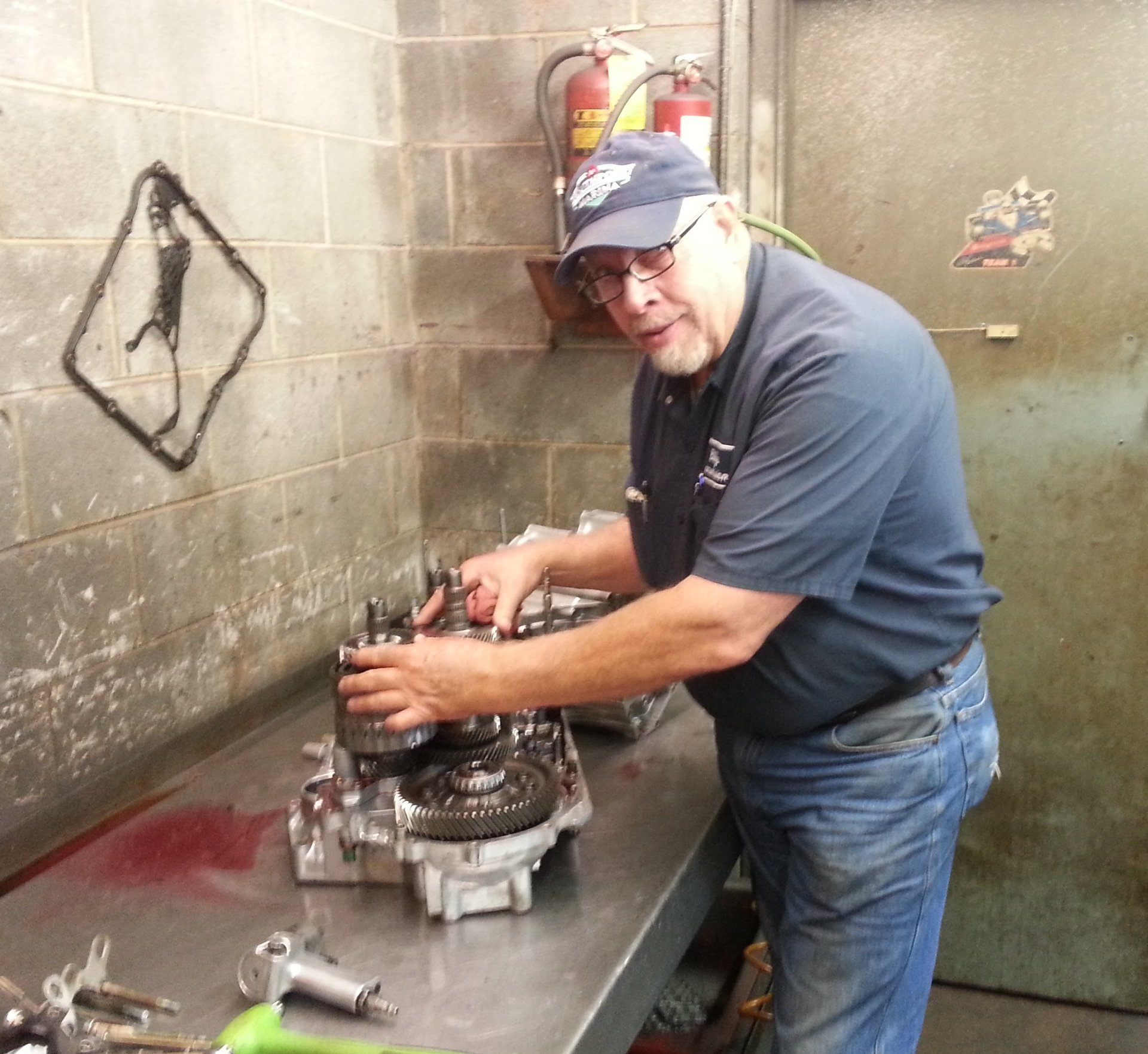 Servicing done to the transmission of the automobile in High Point, NC