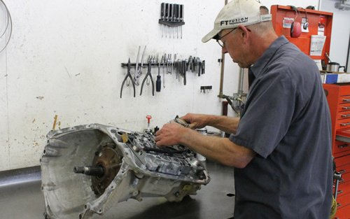 Affordable repair being done on transmission repairs in High Point, NC
