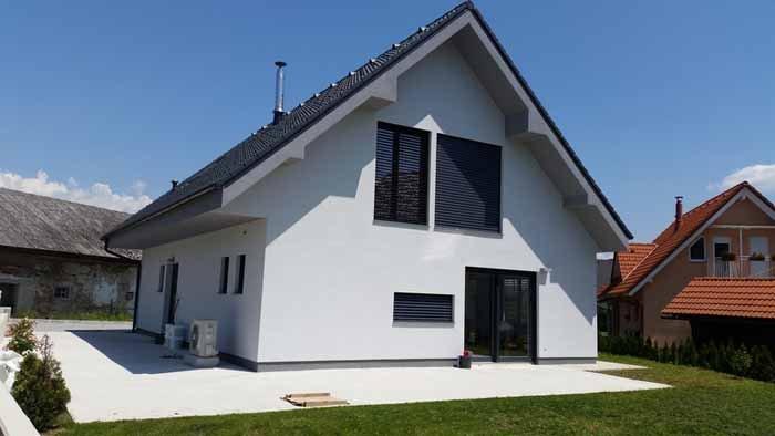vista esterna di una casa