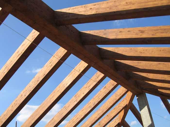 vendita tetto in legno
