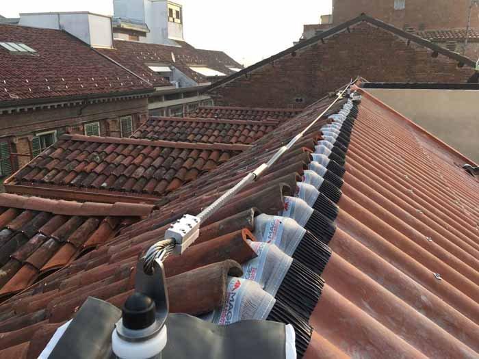 installazione impianti sul tetto