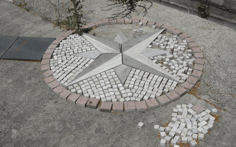 mosaici da esterno in marmo, pavimentazioni in marmo, pavimentazioni in travertino, Poggio Mirteto, Rieti